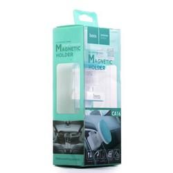 Автомобильный держатель Hoco CA16 Short version magnetic air outlet holder магнитный универсальный в решетку белый
