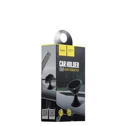 Автомобильный держатель Hoco CA9 Magnetic metal vehicle mounted mobile holder магнитный универсальный черный