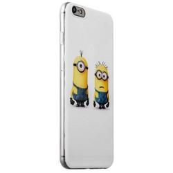 Чехол-накладка UV-print для iPhone 6s Plus/ 6 Plus (5.5) силикон (мультфильмы) Миньоны тип 003