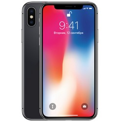 Apple iPhone X 64GB Space Gray (серый космос) восстановленный