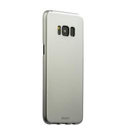 Чехол-накладка пластик Soft touch Deppa Air Case D-83307 для Samsung GALAXY S8+ SM-G955F 1мм Серебристый