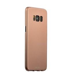 Чехол-накладка пластик Soft touch Deppa Air Case D-83309 для Samsung GALAXY S8+ SM-G955F 1мм Розовое золото