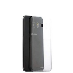 Чехол-накладка силиконовый J-case Premium series TPU 0.5mm для Samsung Galaxy S7 Edge SM-G935F прозрачный