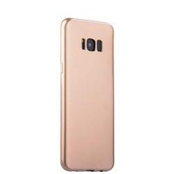 Чехол-накладка силиконовый J-case Shiny Glazed Series 0.5mm для Samsung GALAXY S8+ SM-G955 Jet Gold Золотистый