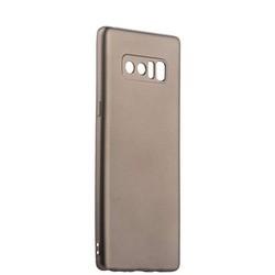 Чехол-накладка силиконовый J-case Delicate Series Matt 0.5mm для Samsung Galaxy Note 8 (N950) Графитовый