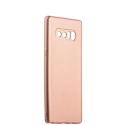 Чехол-накладка силиконовый J-case Delicate Series Matt 0.5mm для Samsung Galaxy Note 8 (N950) Розовое золото