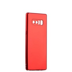 Чехол-накладка силиконовый J-case Shiny Glazed Series 0.5mm для Samsung GALAXY Note 8 (N950) Jet Red Красный