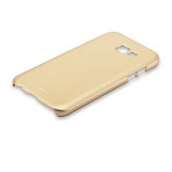 Чехол-накладка пластик Soft touch Deppa Air Case D-83288 для Samsung Galaxy A5 SM-A520F (2017 г.) 1мм Золотистый