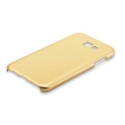 Чехол-накладка пластик Soft touch Deppa Air Case D-83292 для Samsung Galaxy A7 SM-A720F (2017 г.) 1мм Золотистый