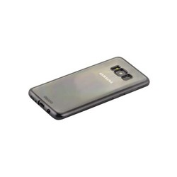 Чехол-накладка силикон Deppa Gel Plus Case D-85305 для Samsung GALAXY S8 (SM-G950) 0.9мм Черный матовый борт