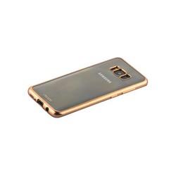 Чехол-накладка силикон Deppa Gel Plus Case D-85307 для Samsung GALAXY S8 (SM-G950) 0.9мм Золотистый матовый борт