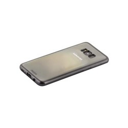 Чехол-накладка силикон Deppa Gel Plus Case D-85308 для Samsung GALAXY S8+ (SM-G955) 0.9мм Черный матовый борт
