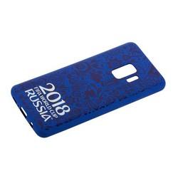 Чехол-накладка TPU Deppa D-104732 ЧМ по футболу FIFA™ Official Logotype для Samsung GALAXY S9 SM-G960F Синий