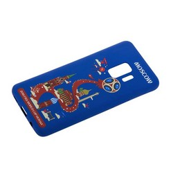 Чехол-накладка TPU Deppa D-104733 ЧМ по футболу FIFA™ Moscow для Samsung GALAXY S9 SM-G960F