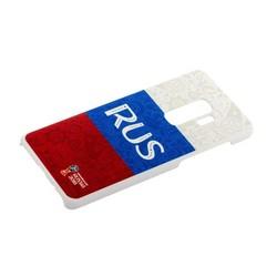 Чехол-накладка PC Deppa D-104745 ЧМ по футболу FIFA™ Flag Russia для Samsung GALAXY S9+ SM-G965F