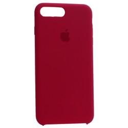Чехол-накладка силиконовый Silicone Case для iPhone 8 Plus/ 7 Plus (5.5) Rose Red Малиновый №30