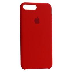 Чехол-накладка силиконовый Silicone Case для iPhone 8 Plus/ 7 Plus (5.5) Red Красный №33