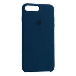 Чехол-накладка силиконовый Silicone Case для iPhone 8 Plus/ 7 Plus (5.5) Cosmos Blue Аспидно-серый №35